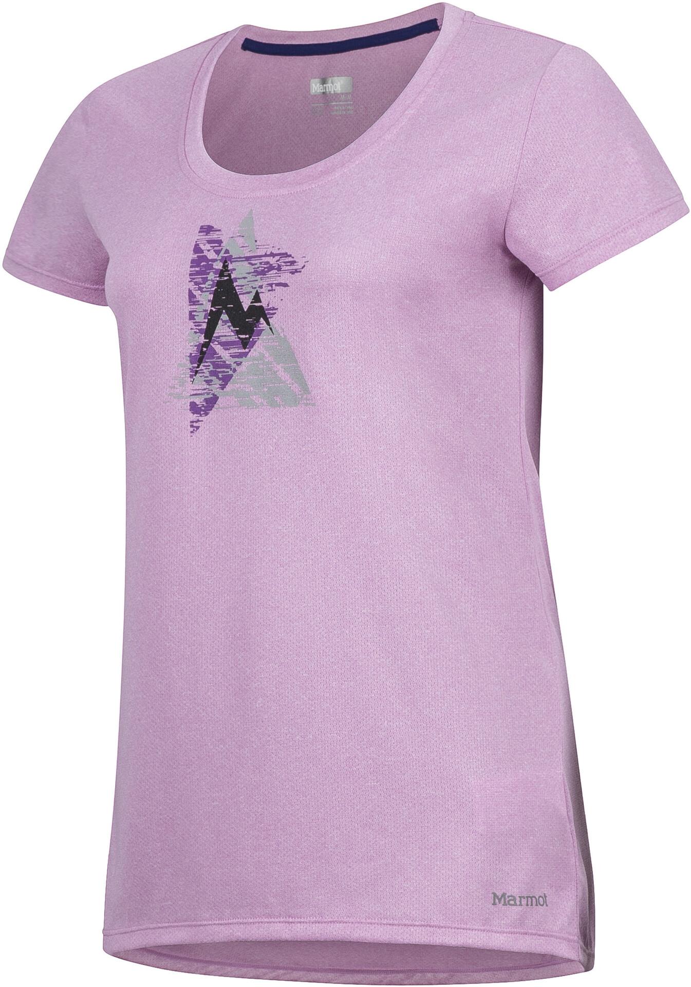 Marmot Rouge Femme Sur Time T Shirt Campz Post Manches Courtes rngxT0Hrqw